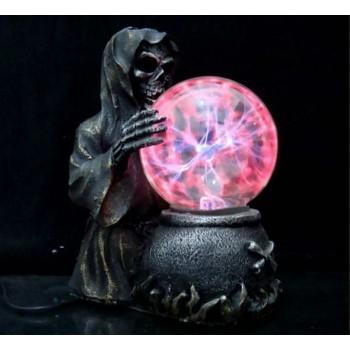 """Необычный подарок Плазменный шар """"Sceleton"""""""
