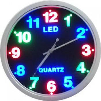 Оригинальные настенные LED часы