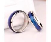 Необычное кольцо, меняющее цвет
