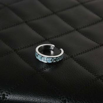 Кольцо женское светящееся в темноте