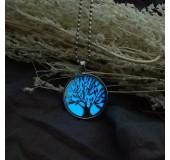 Кулон светящийся в темноте Древо жизни