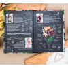 """Набор кулинарная книга и блокнот для списка покупок """"Вкусная еда - залог счастливой жизни"""""""