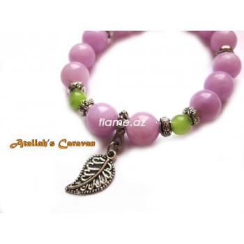 Браслет из натуральных камней Lilac Berries