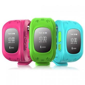 Детские часы с телефоном и GPS Q50