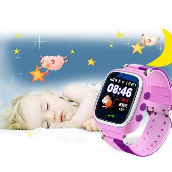 Детские часы с телефоном и GPS Q60