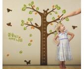"""Настенный стикер-измеритель роста """"Дерево"""""""