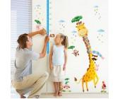 """Стикер-измеритель роста на стену """"Жираф"""""""