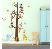 """Детский стикер для декора комнаты """"Животные"""""""