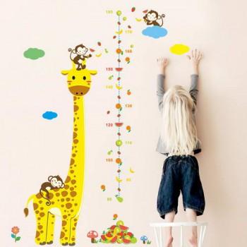 """Детский измеритель роста """"Жираф"""""""