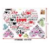 """Виниловый стикер """"Love Heart"""""""