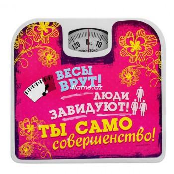 """Прикольные весы напольные """"Весы врут!"""""""
