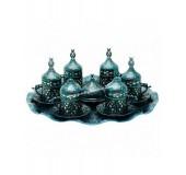 """Подарочный чайный набор """"Ажур"""" на подносе"""