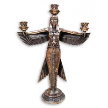 Подсвечник богиня Маат символ справедливости