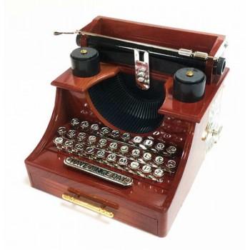 Шкатулка музыкальная - Печатная машинка