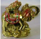 Статуэтка Фэн-Шуй Слон и Жаба