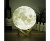 Оригинальный декоративный ночник Луна 3D