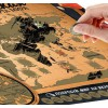 """Карта мира со скретч-слоем """"Гастрономическая"""""""