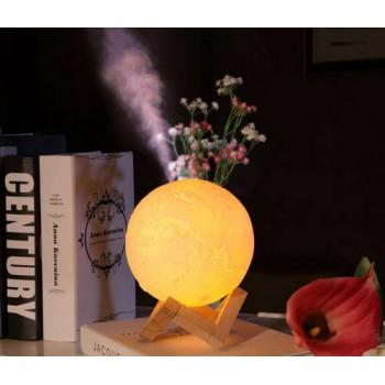 3D Moon ночник-увлажнитель воздуха
