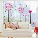 "Виниловый стикер ""Pink Pandora Flower Tree"""