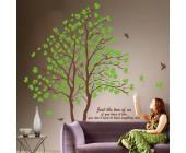 """Наклейка виниловая """"Bird singing in tree"""" (2 шт.)"""
