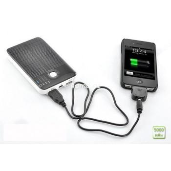Солнечная зарядка Power Bank 5000mAh