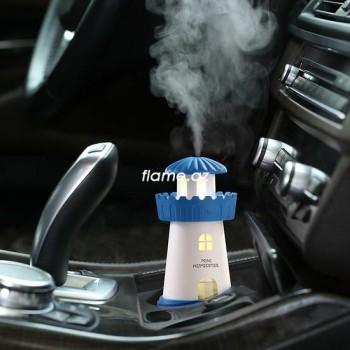 USB mini aroma hava nəmləndiricisi Mayak lampayla