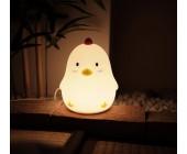 Zəngli saat-gecə LED lampası Chicken
