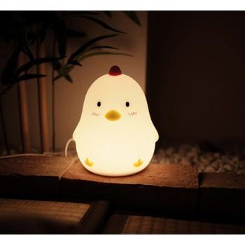 LED будильник-ночник Chicken
