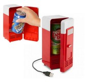 USB минихолодильник для напитков+подогрев