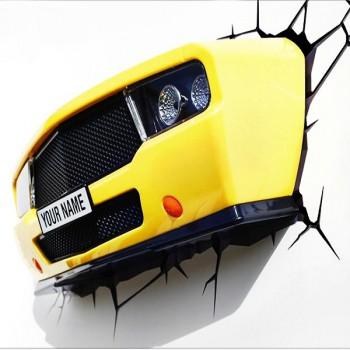 """Пробивной 3D светильник """"Авто"""""""