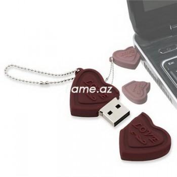 "USB флешка ""Шоколадные сердечки"" 8 Гб"