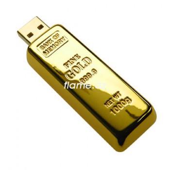 """USB флешка """"Слиток золота"""" 8Гб"""