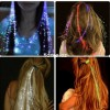 Светодиодная прядь для волос