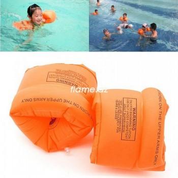 Надувные нарукавники оранжевые