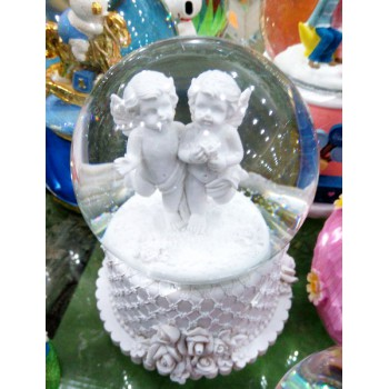 "Музыкальный снежный шар ""Ангелы"""