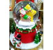 "Музыкальный снежный шар ""Санта Клаус"""