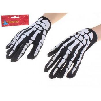 Прикольные перчатки «Скелет»