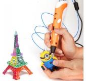 3D pen-2 ekranla qələm uşaqlar üçün