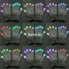 Необычные светящиеся Перчатки