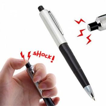 Прикол-шокер в виде ручки с фонариком