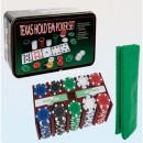 Покерный набор (200 фишек с номиналом + сукно)
