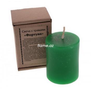Свеча с травами «Фортуна»