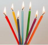 Набор свеч для медитаций «Чакры», 7 шт.