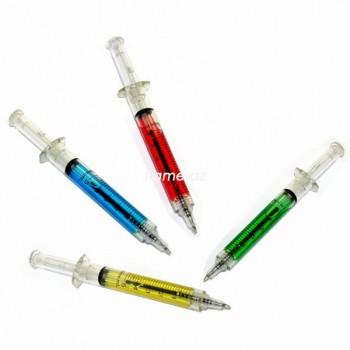 "Ручка ""03"" в форме шприца"