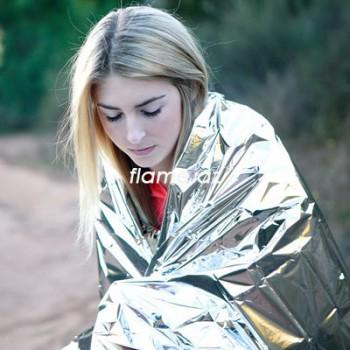 Алюминиевое спасательное одеяло