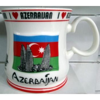 Оригинальная кружка I love Azerbaijan