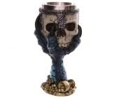 Винный бокал Skull 3D