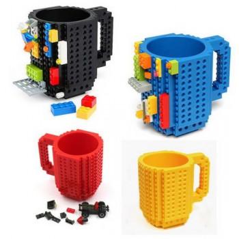 Кружка-конструктор LEGO