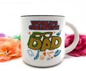 """Кружка керамическая """"World's greatest Dad"""", 350 мл"""