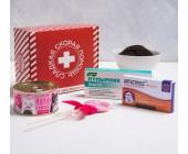 Сладкая аптечка «Сладкая скорая помощь» (леденец, конфеты, чай, шоколад)